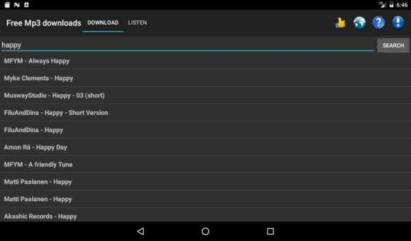 Free Mp3 Downloads screenshot 9