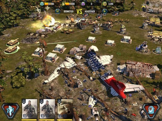 War Commander: Rogue Assault screenshot 5
