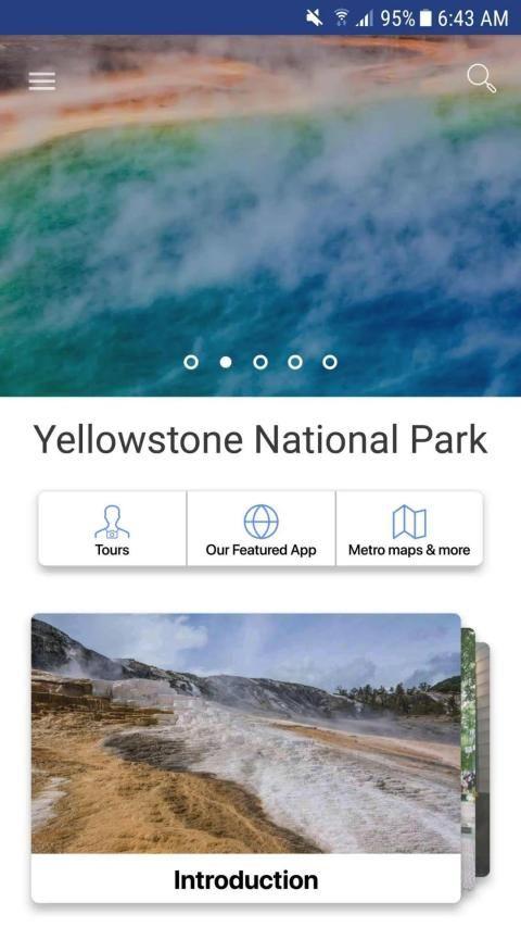 Yellowstone National Park Travel Guide 5 تصوير الشاشة