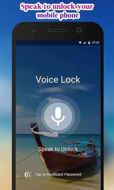 Voice Lock screenshot 3