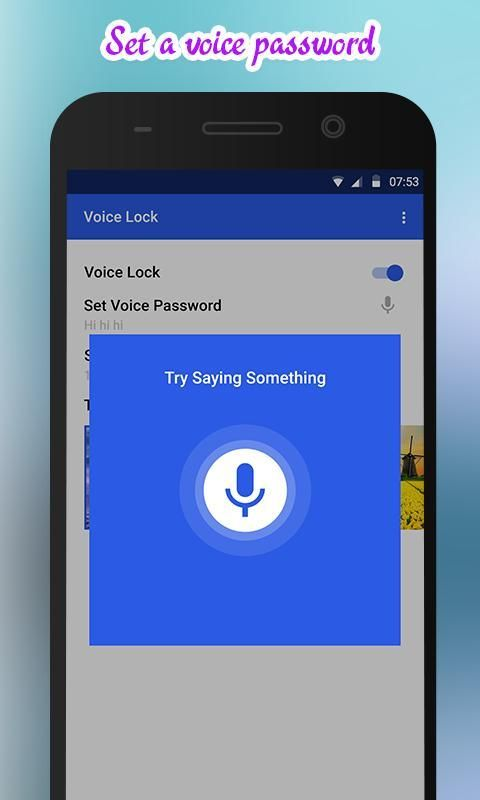 Voice Lock screenshot 4