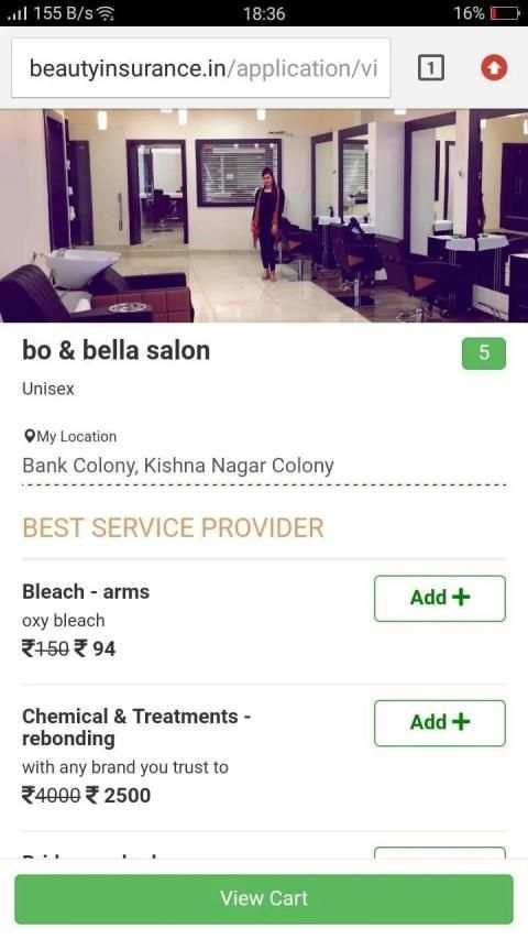 Beauty Insurance screenshot 3