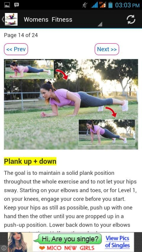 Exercise & Body Fitness screenshot 1