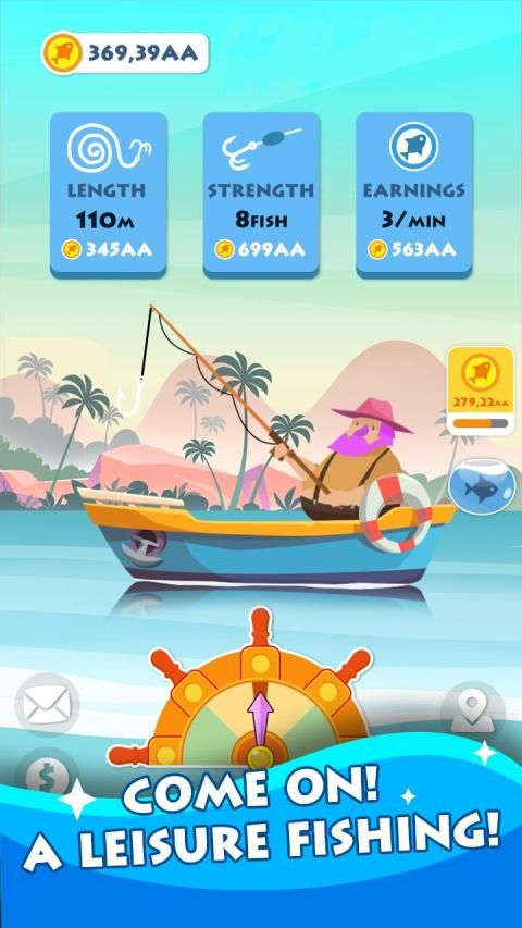 Fish for Money – Hook up fish and happy fishing screenshot 4