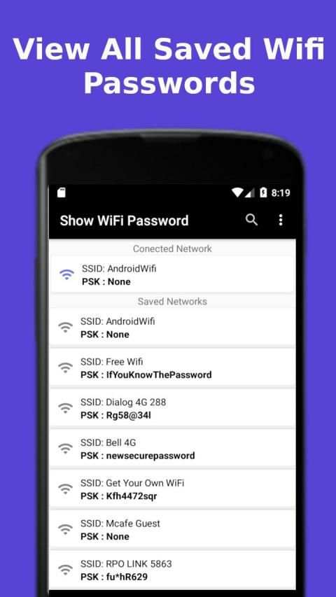 Show WiFi Password screenshot 3