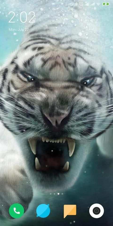 Tiger Live Wallpaper screenshot 1