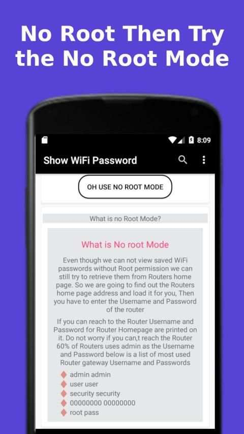 Show WiFi Password screenshot 5