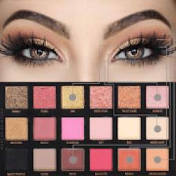 Step by step makeup (lip, eye, face) *