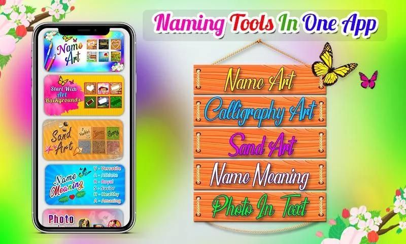 7Arts - Name Art Editor Focus n Filters Maker 2020 स्क्रीनशॉट 19