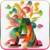 Letter Wallpaper - Stylish Alphabets,WAStickerApps on 9Apps