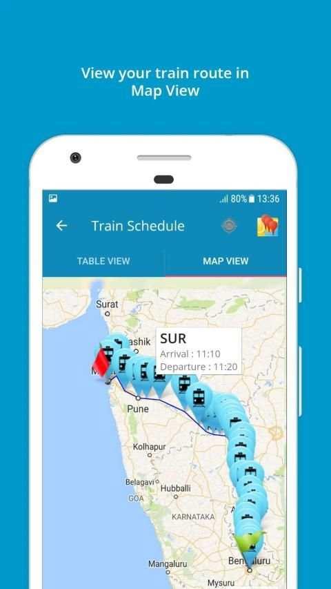 Indian Rail Train Info 3 تصوير الشاشة