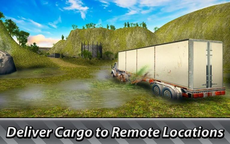 Offroad Trucker: Cargo Truck Driving screenshot 11