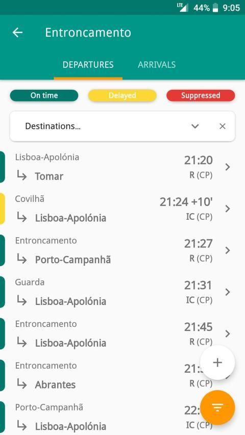 Catch UP - Portugal Trains screenshot 7