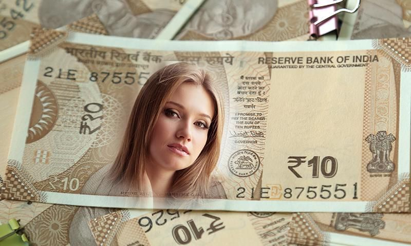 Indian Currency NOTE Photo Frames screenshot 1