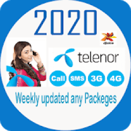 Telenors All Call Sms Internet Packeges 2020 icon