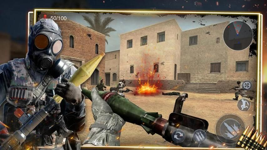 Special Ops 2020: Encounter Shooting Games 3D- FPS स्क्रीनशॉट 3