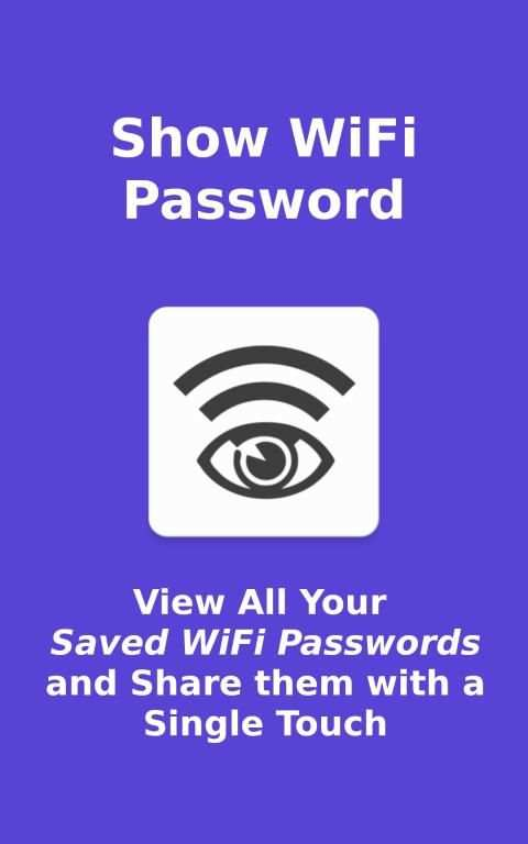 Show WiFi Password screenshot 6
