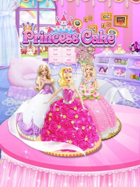 Princess Cake - Sweet Trendy Desserts Maker screenshot 3
