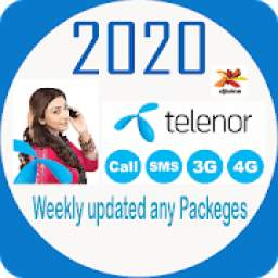 Telenors All Call Sms Internet Packeges 2020
