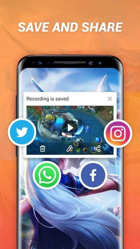 HD Screen Recorder & Video Recorder - iRecorder screenshot 6