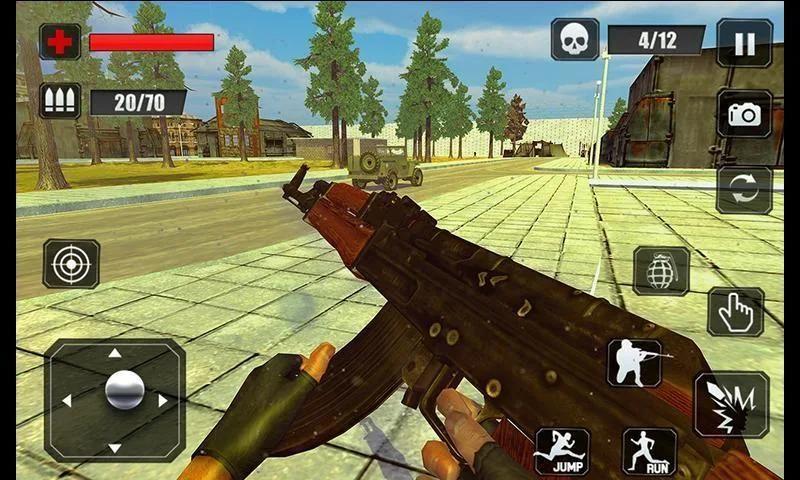Counter Terrorist Stealth Mission Battleground War screenshot 11