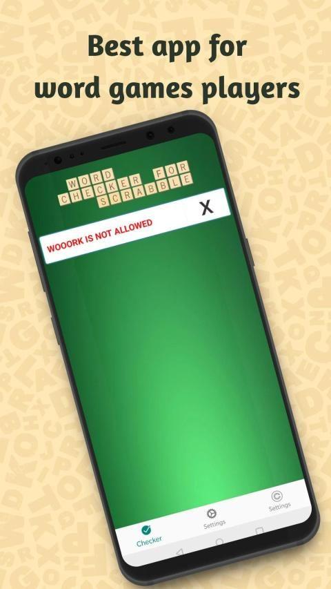 Word Checker for Scrabble: Easy Judge स्क्रीनशॉट 4