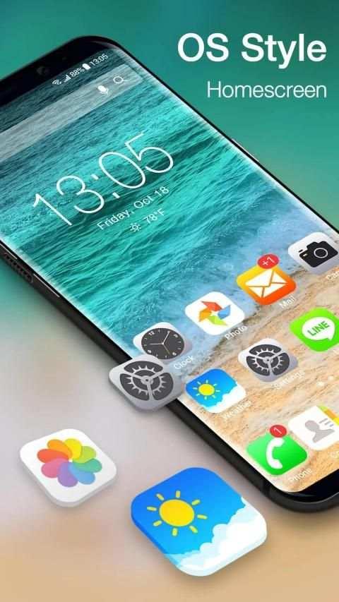 iLauncher OS13-Phone X style screenshot 5