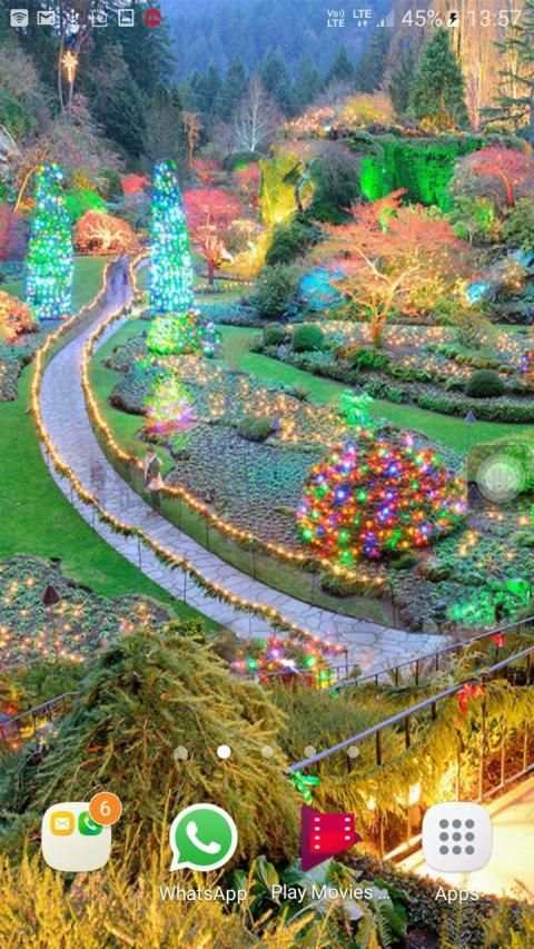 Garden Live Wallpapers HD screenshot 4
