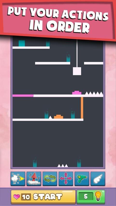 Six Moves - A Unique Puzzle Platform Game screenshot 3