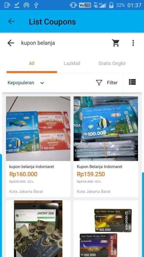 Coupons for Lazada & Promo codes screenshot 1