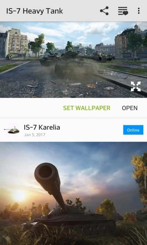360° IS-7 Tank Wallpaper screenshot 5