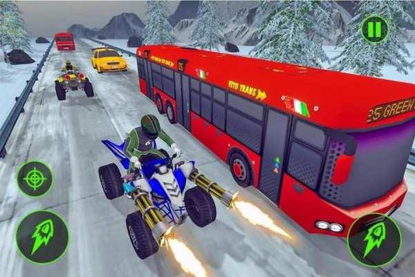 ATV Racing: Quad Bike Shooting Game screenshot 6