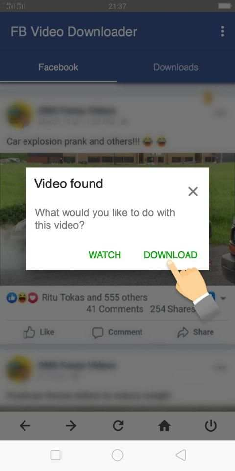 Video Downloader for Facebook - FB Video Download screenshot 3