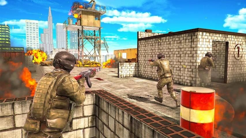Special Ops 2020: Encounter Shooting Games 3D- FPS स्क्रीनशॉट 7