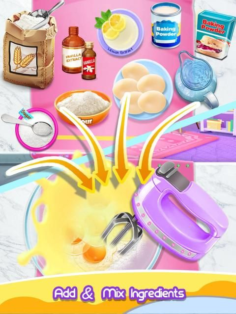 Princess Cake - Sweet Trendy Desserts Maker screenshot 2