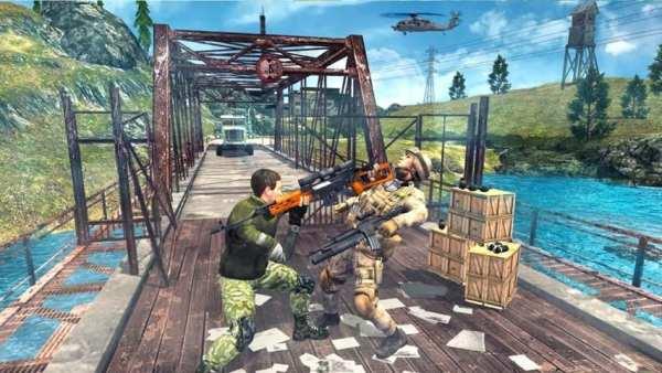 Border War Army Sniper 3D screenshot 3