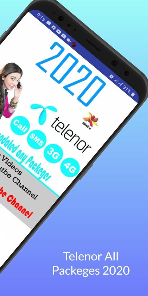Telenors All Call Sms Internet Packeges 2020 screenshot 7